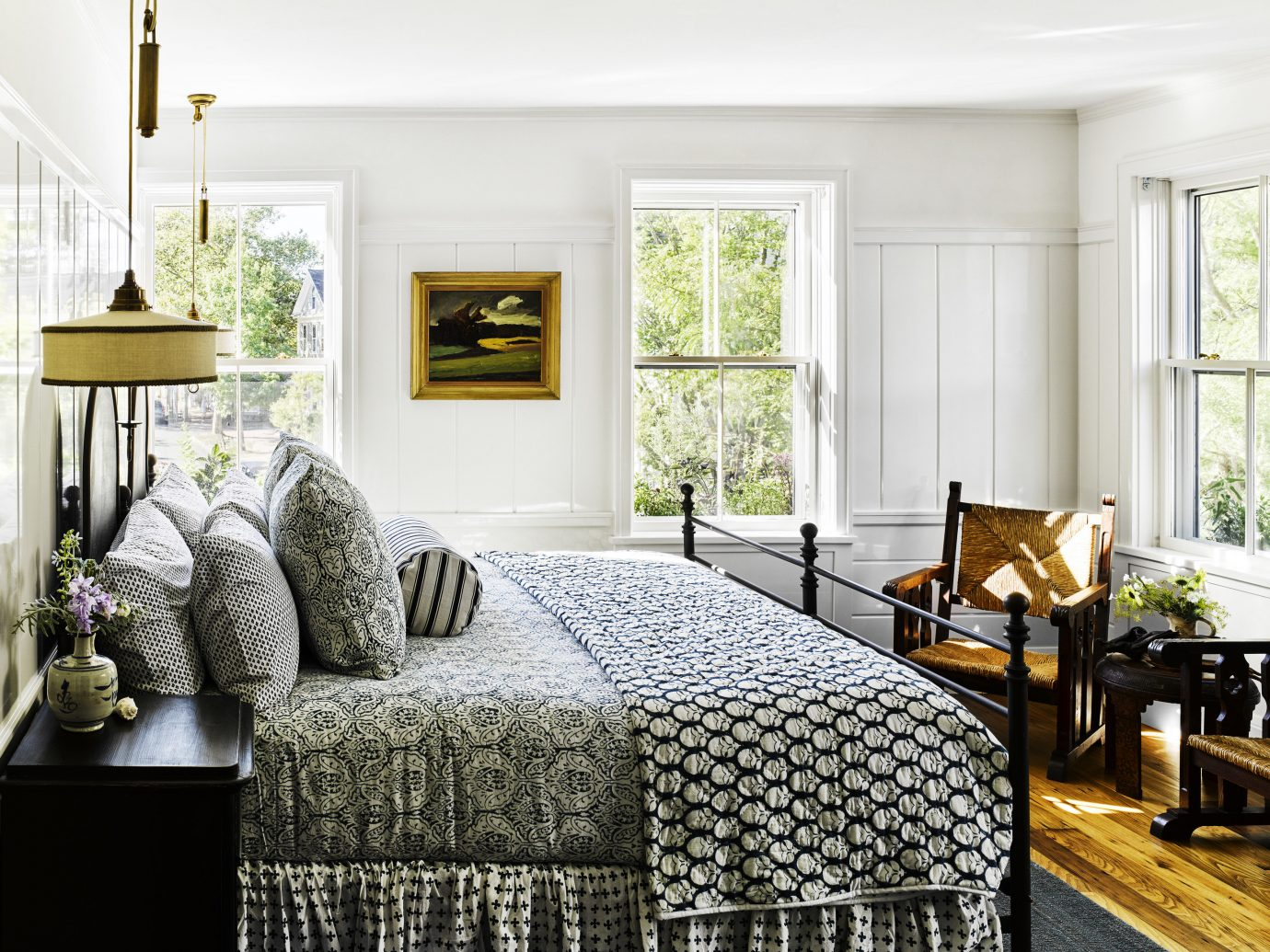 Trip Ideas indoor living room floor room window interior design Living home bed frame furniture Bedroom interior designer linens