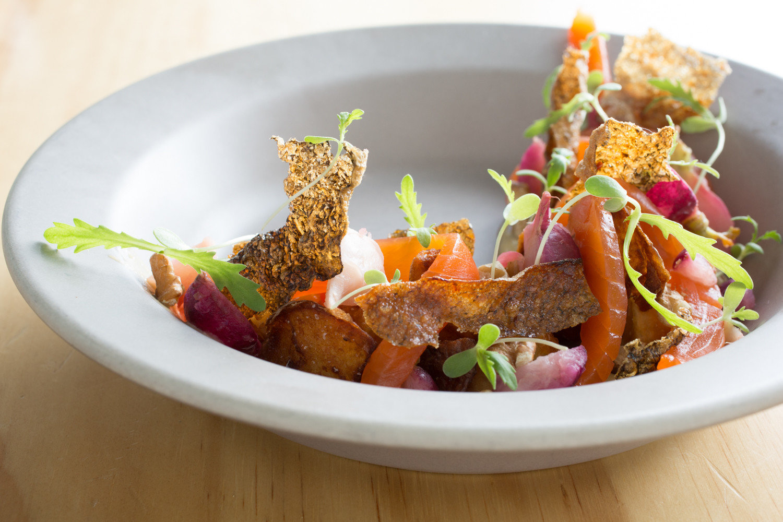 Food + Drink Trip Ideas plate food dish vegetarian food cuisine vegetable recipe salad appetizer garnish dishware bowl containing piece de resistance