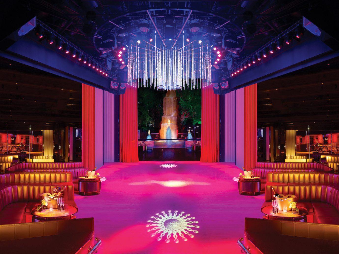 Trip Ideas nightclub function hall stage light