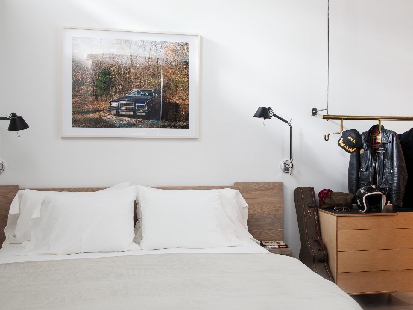Boutique Hotels Trip Ideas wall indoor bed room property Bedroom furniture scene interior design floor pillow home apartment decorated painting