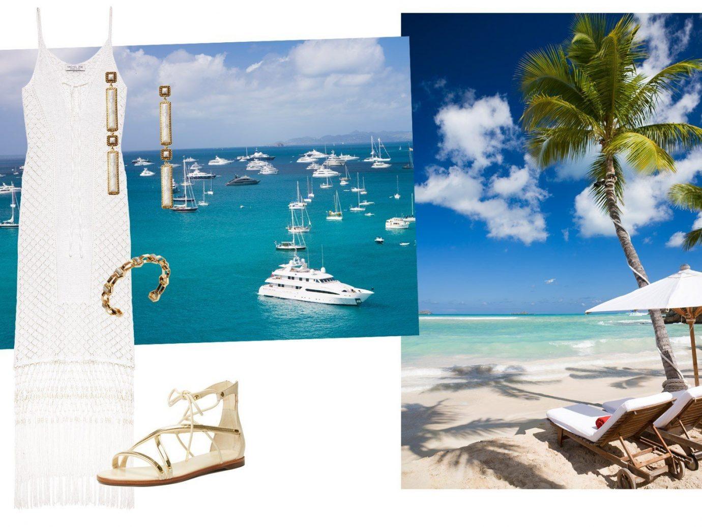 Jetsetter Guides advertising brand caribbean modern art shore