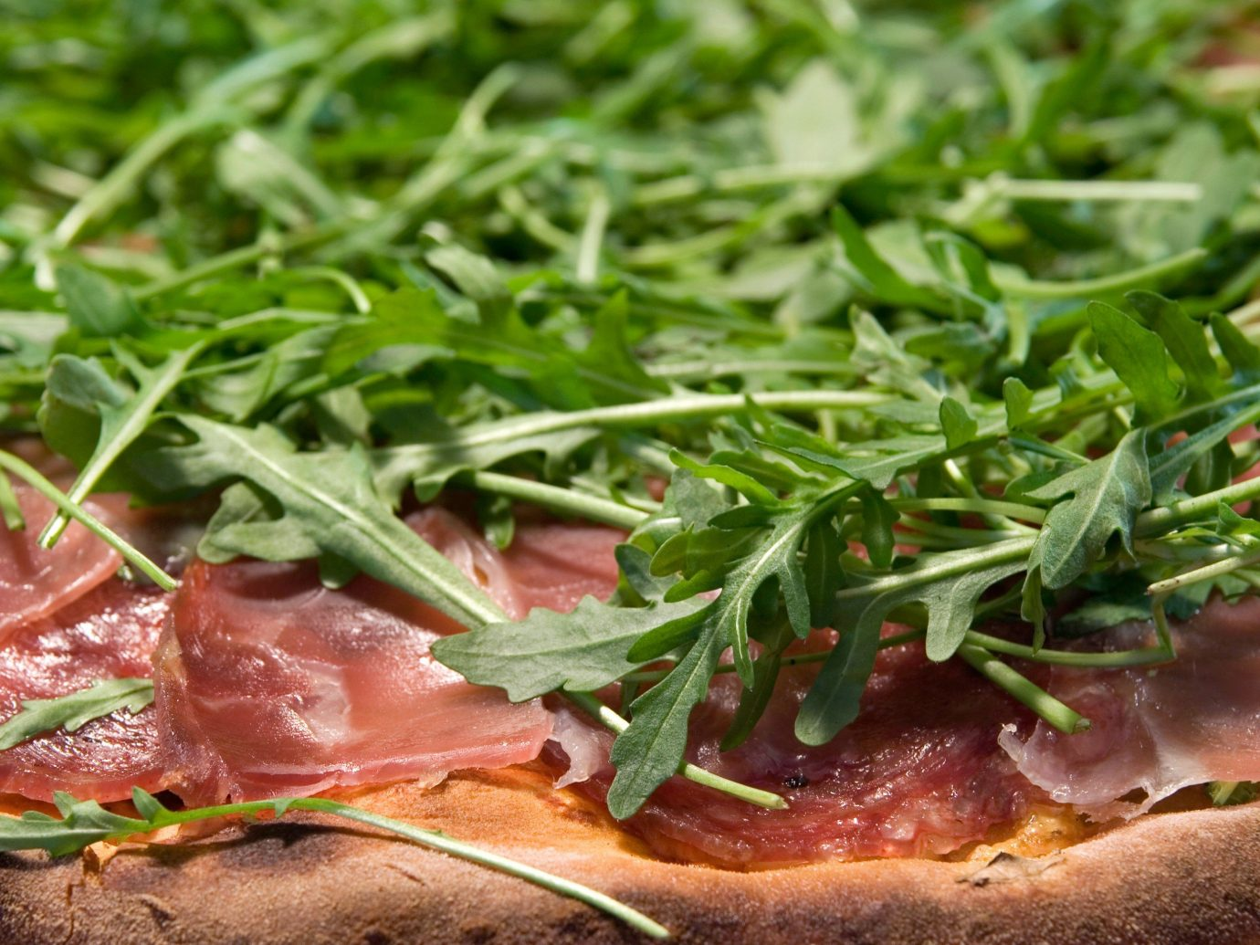 Beach food dish meat cuisine produce green salt cured meat prosciutto vegetable sauce fresh