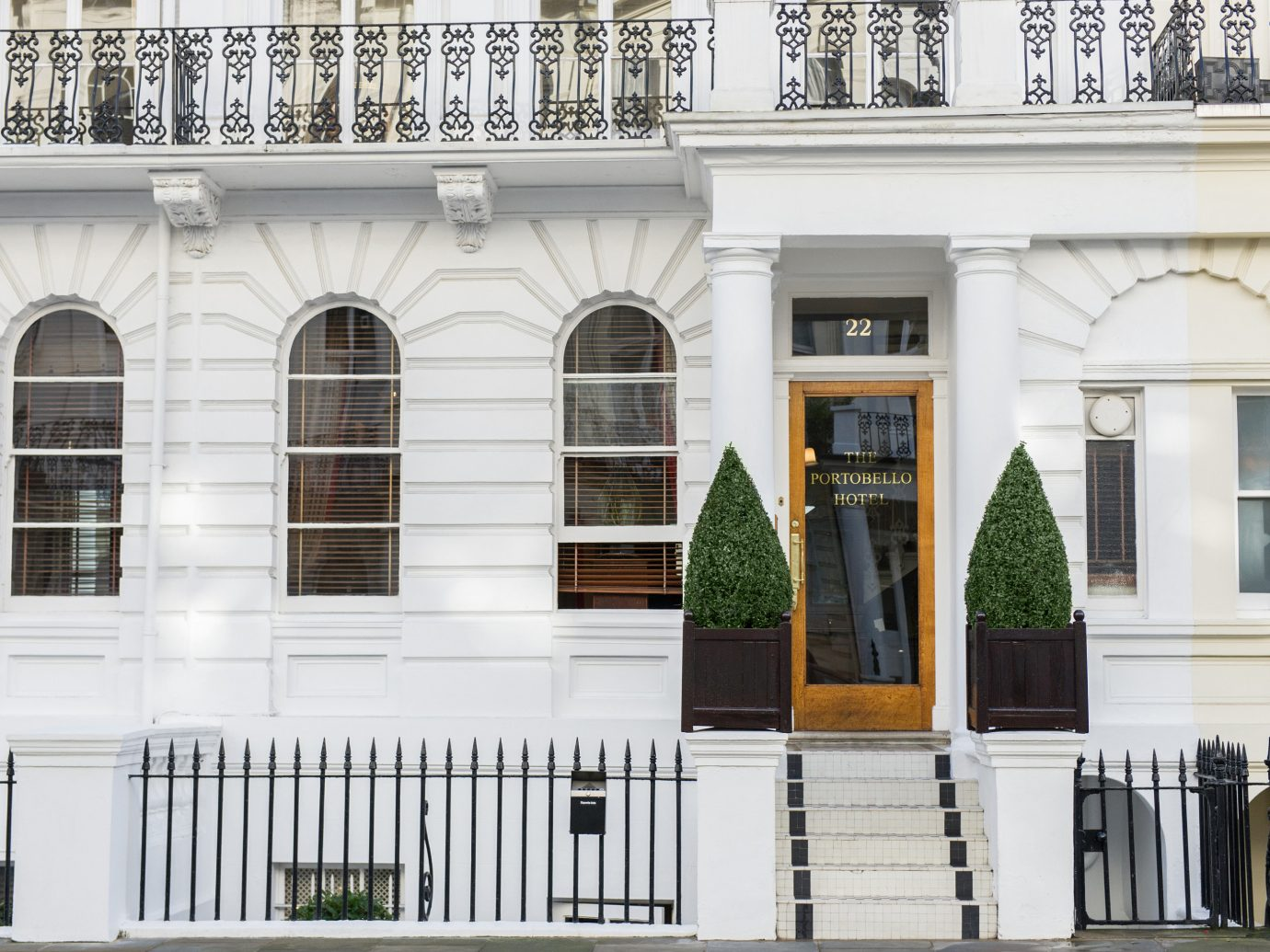 Boutique Hotels London Romantic Hotels outdoor building property Architecture house facade home window estate interior design palace window covering door condominium baluster mansion stone
