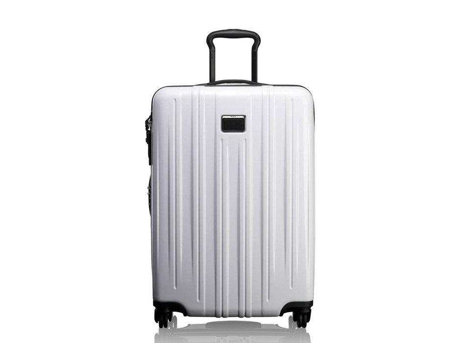 Packing Tips Travel Shop Travel Tech Travel Tips white suitcase product product design hand luggage luggage & bags appliance brand kitchen appliance