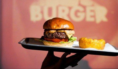 Jetsetter Guides hamburger dish food fast food cuisine slider cheeseburger meal sandwich meat asian food big mac fast food restaurant snack food