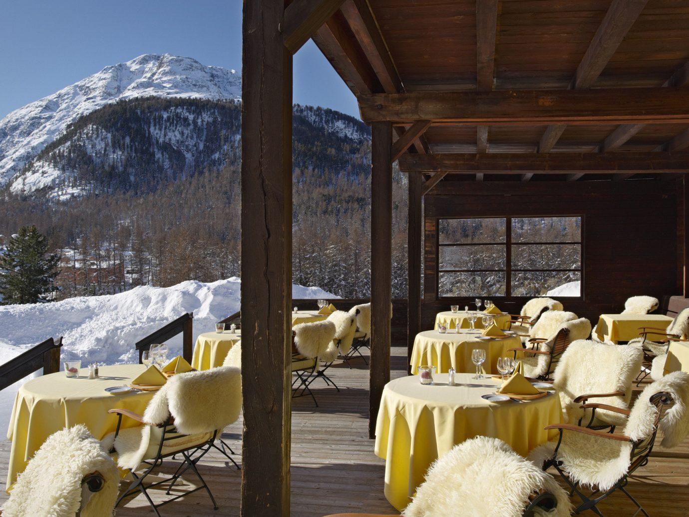 Food + Drink chair Resort restaurant estate meal
