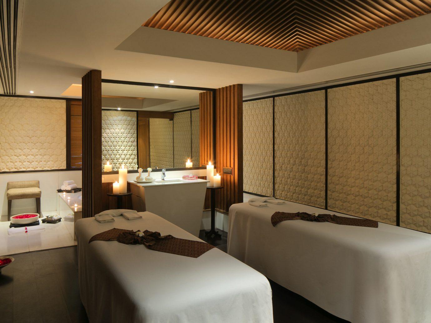 Hotels Luxury Travel indoor bed wall ceiling hotel room Bedroom interior design Suite interior designer furniture several