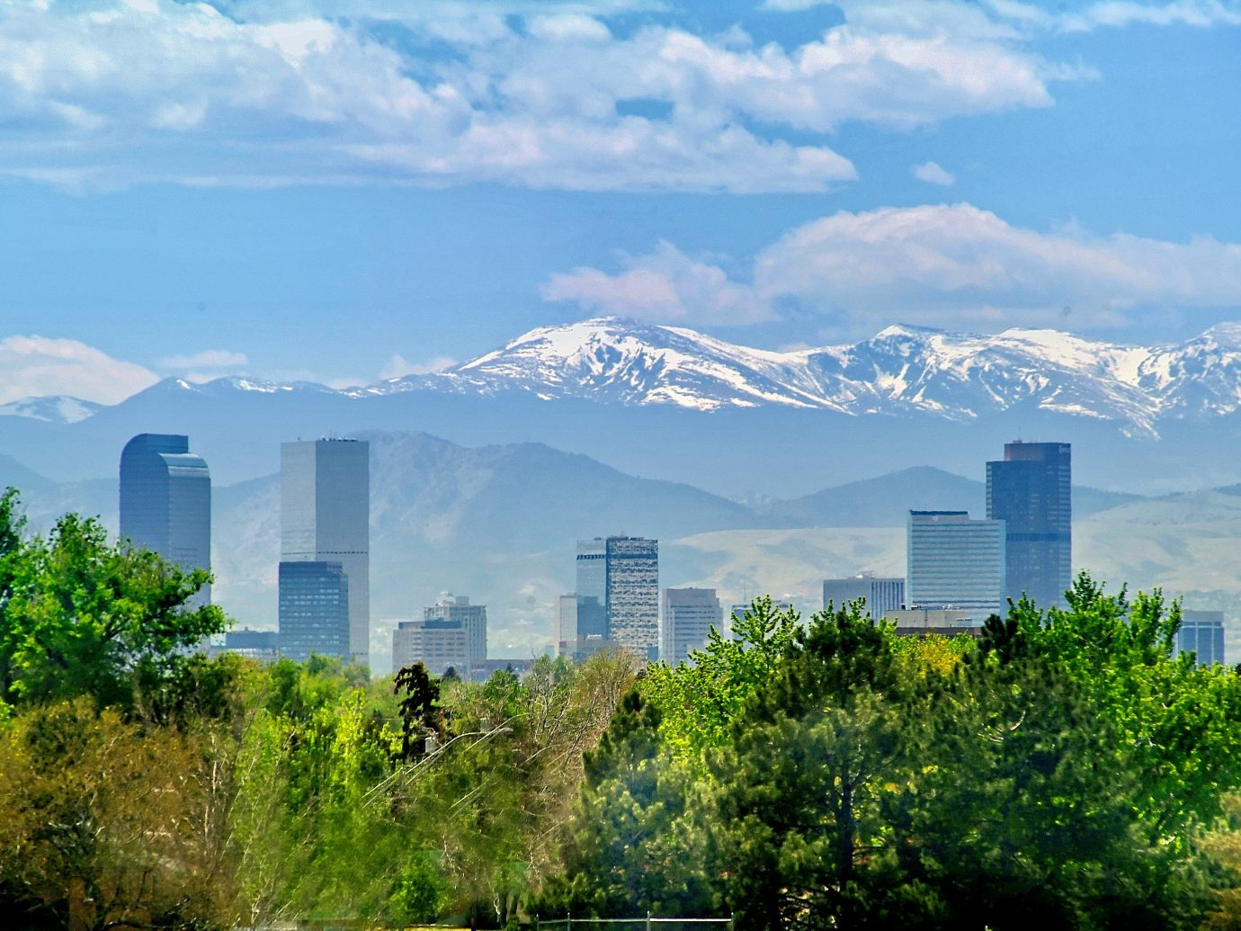 Skyline of Denver, CO