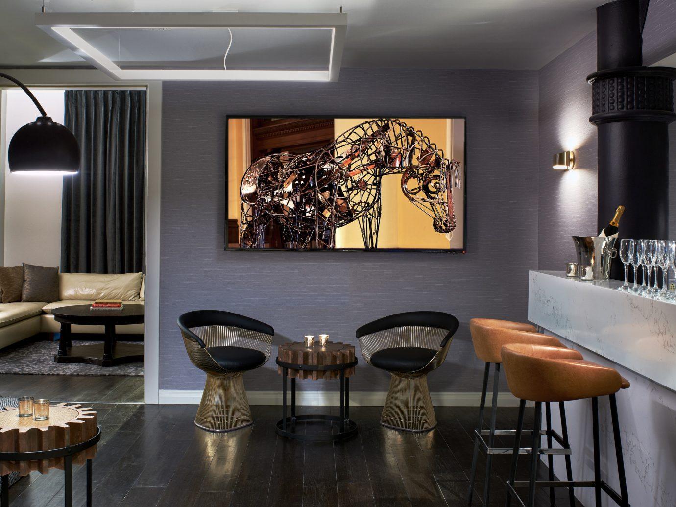 Boutique Hotels Trip Ideas indoor wall dining room floor room property ceiling interior design living room restaurant home lighting Design Kitchen furniture area