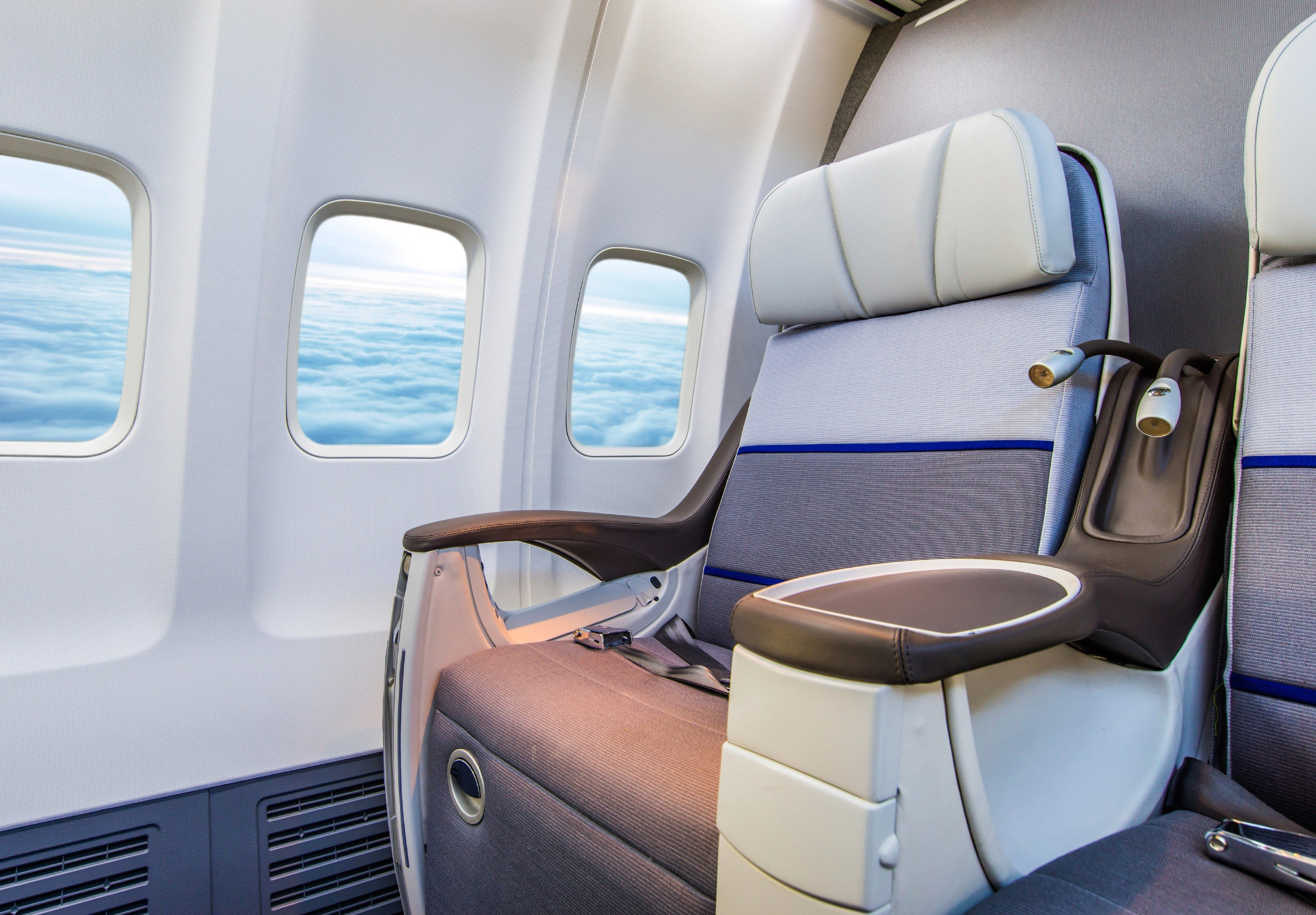Flights Travel Tips car vehicle airline Cabin indoor ecosystem aircraft cabin luxury vehicle passenger yacht automobile make seat car seat