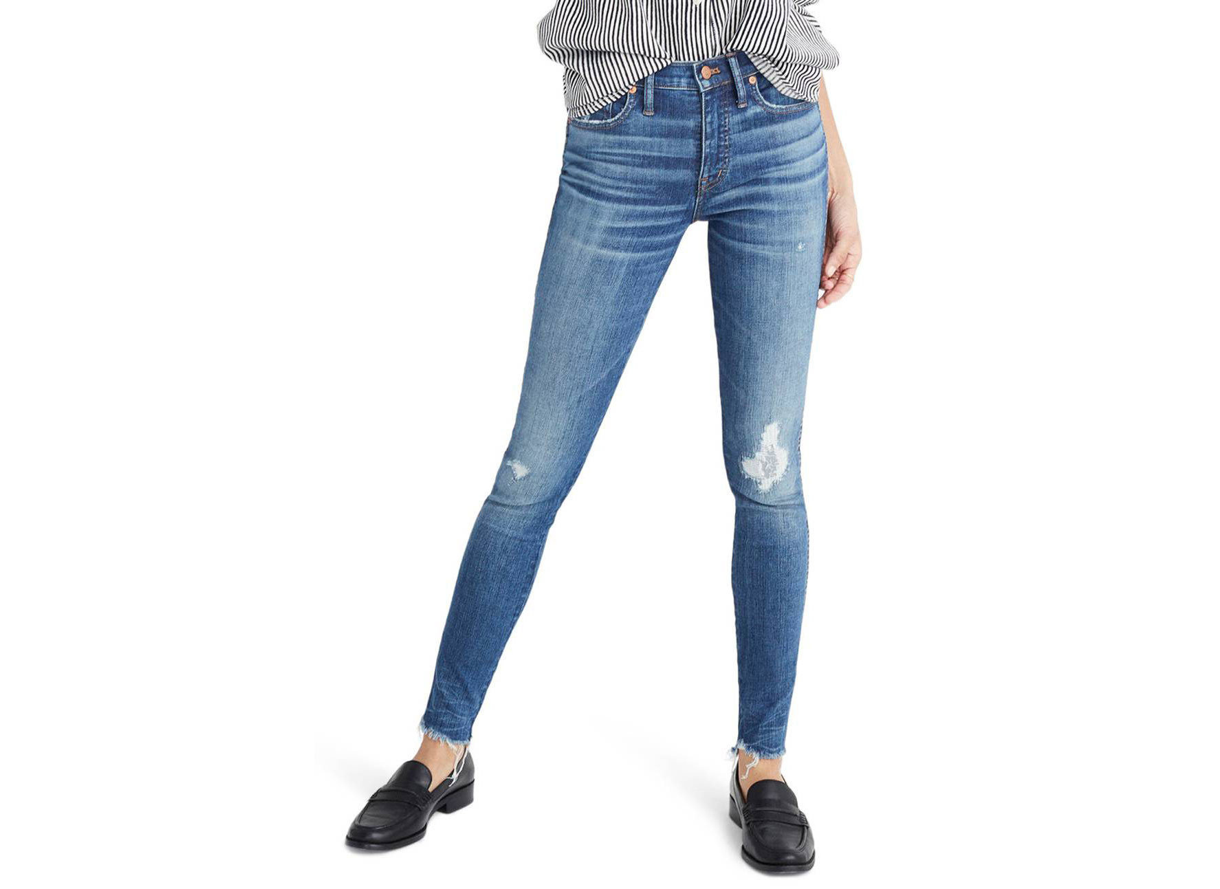 Style + Design Travel Shop person clothing jeans denim trouser posing standing waist wearing joint trousers electric blue leggings abdomen arm