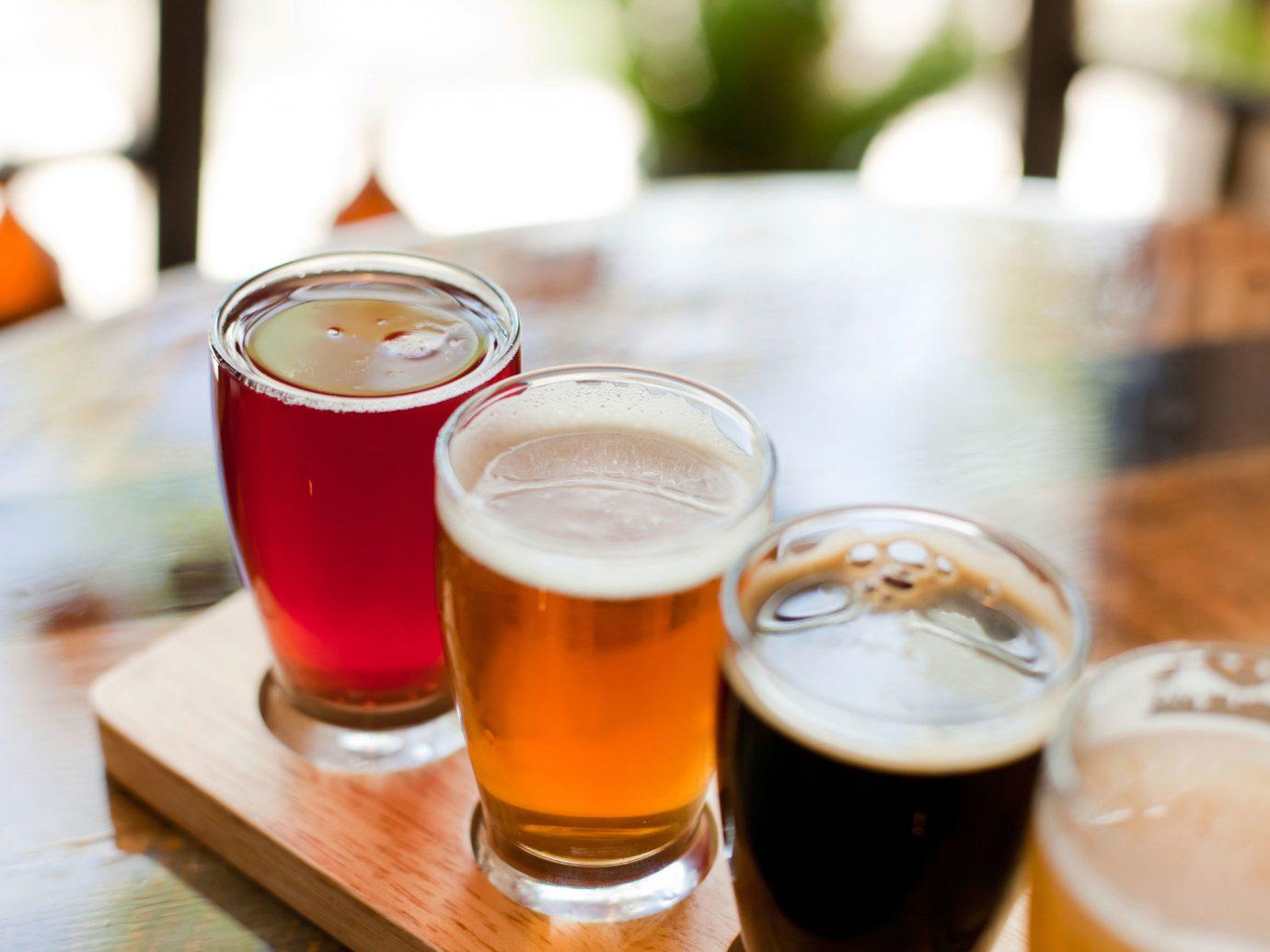 Food + Drink cup table coffee food Drink glass alcoholic beverage beer beverage orange meal