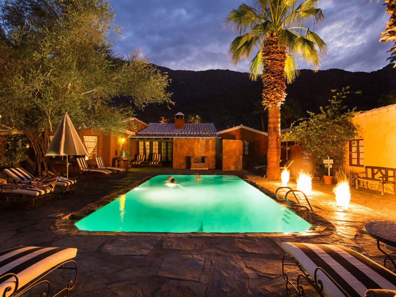 Trip Ideas tree outdoor leisure swimming pool estate Resort landscape lighting mansion Villa screenshot backyard area several