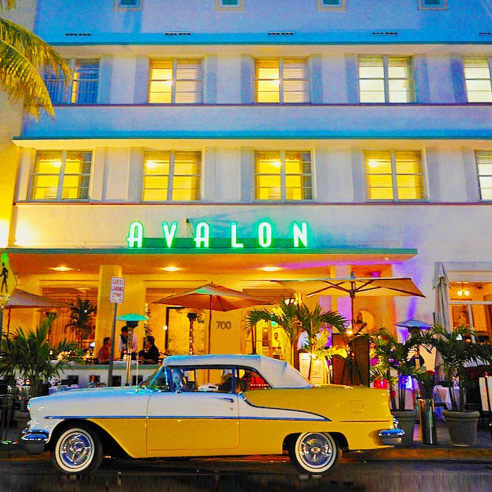 Exterior of Avalon Hotel Miami Beach, FL