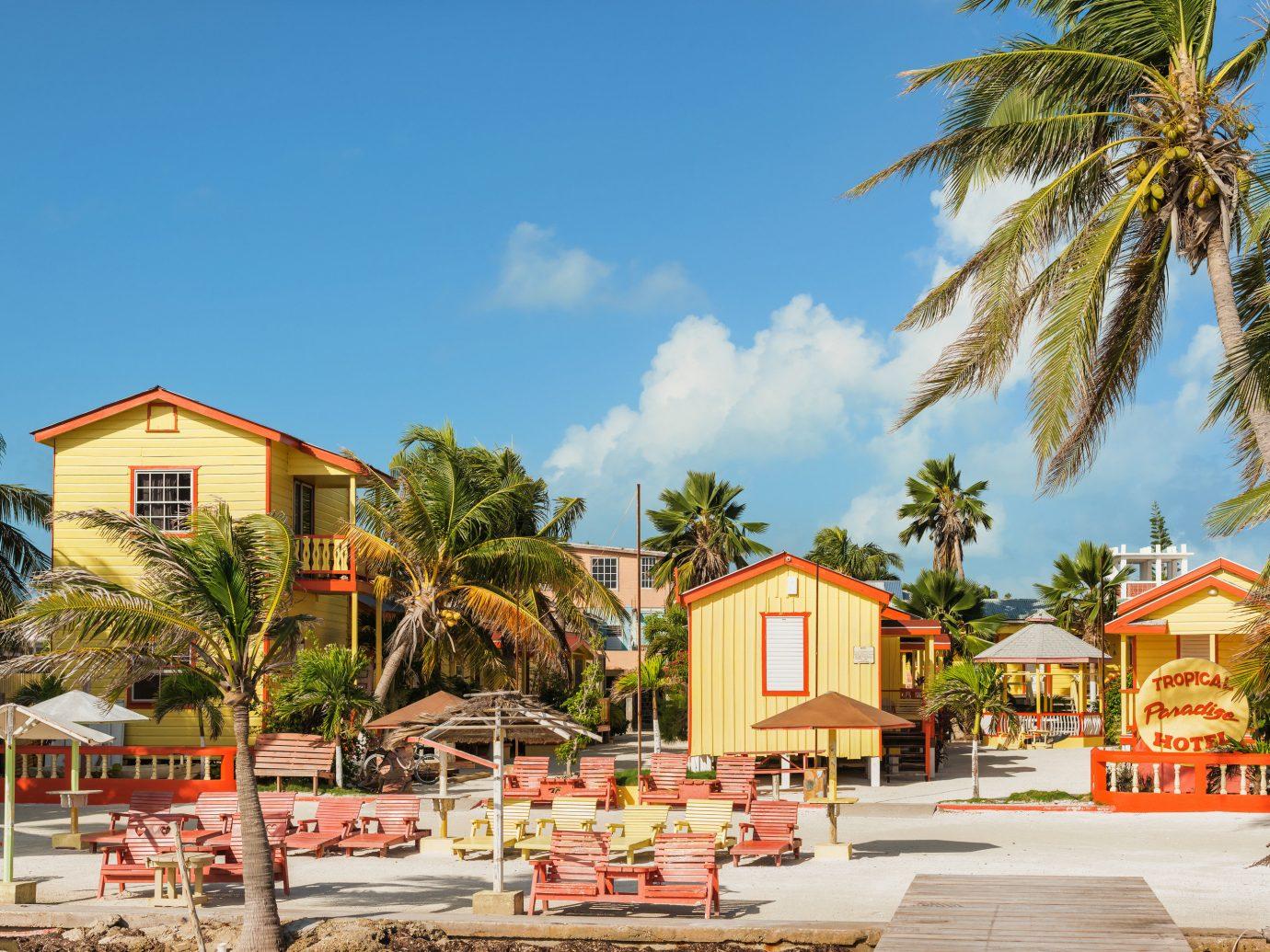 Secret Getaways Trip Ideas Resort property palm tree arecales leisure vacation home real estate sky tree tourism hotel Villa tropics Beach estate cottage recreation caribbean