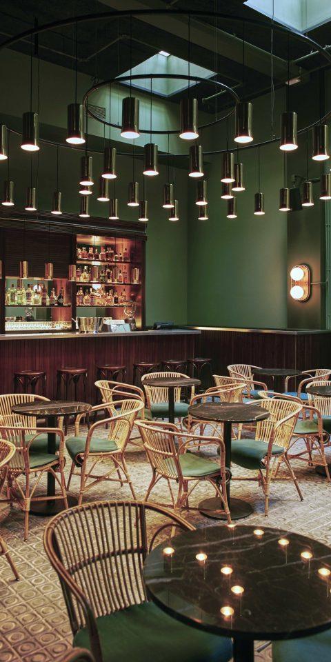 Boutique Hotels Hotels table indoor chair floor Dining room ceiling restaurant Bar interior design furniture area set dining room