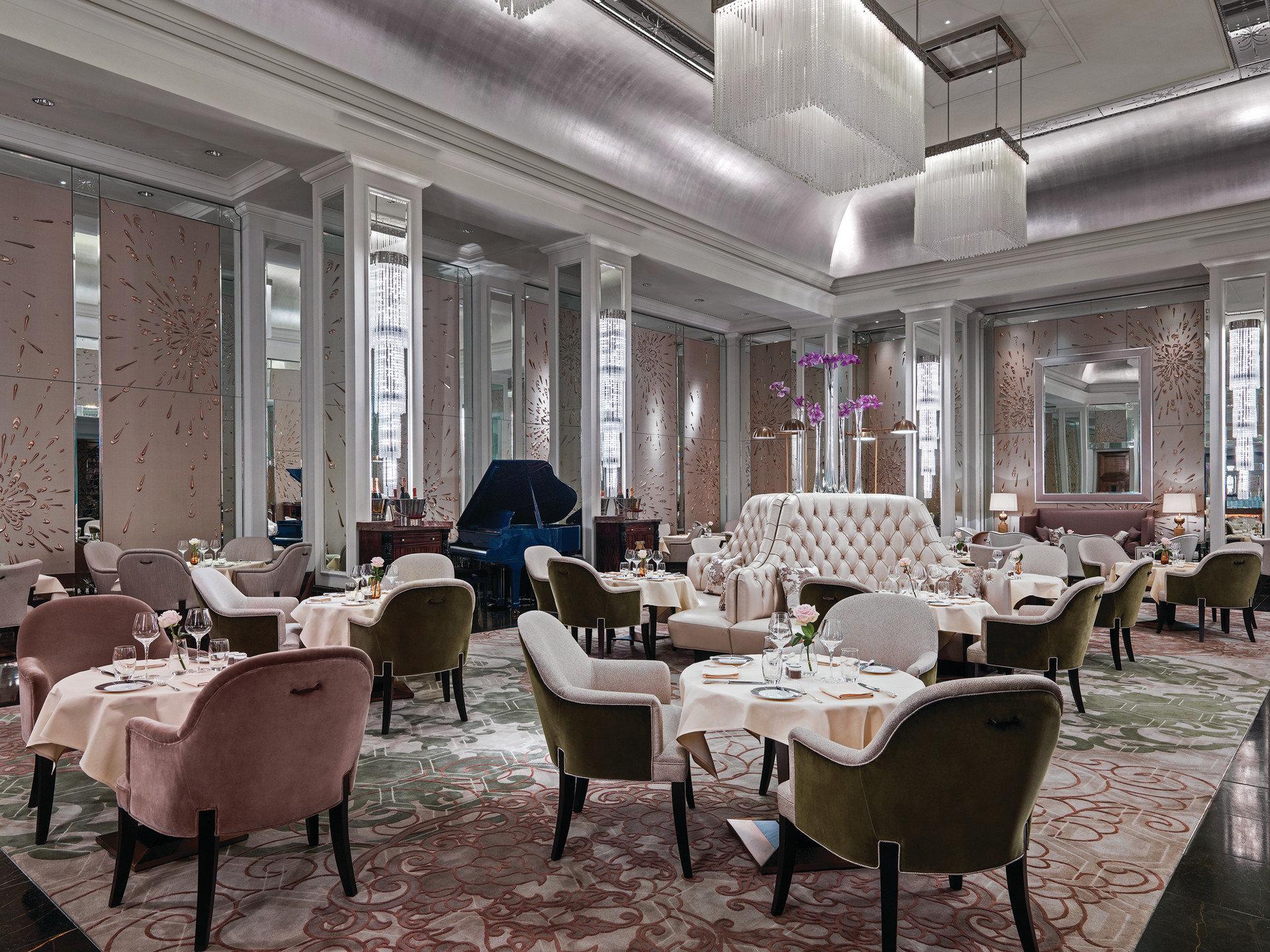 Hotels London Luxury Travel indoor floor window chair room restaurant interior design estate function hall meal dining room furniture Lobby living room Design ballroom several