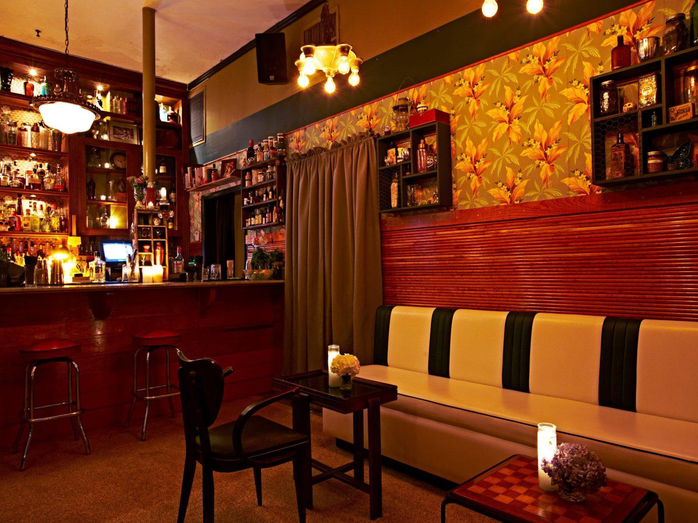 Bar Dining Drink Eat Food + Drink Hip Lounge Modern Trip Ideas indoor floor restaurant room interior design café furniture dining room