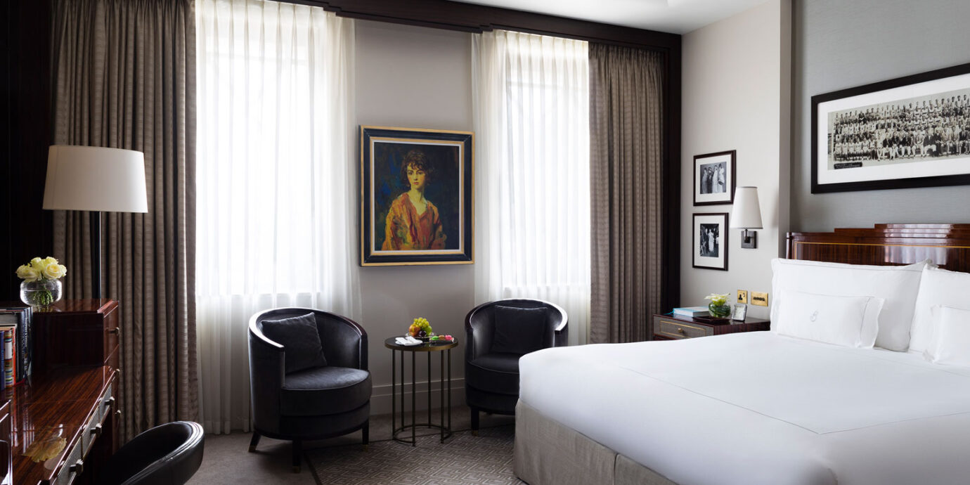 The Beaumont Hotel guestroom