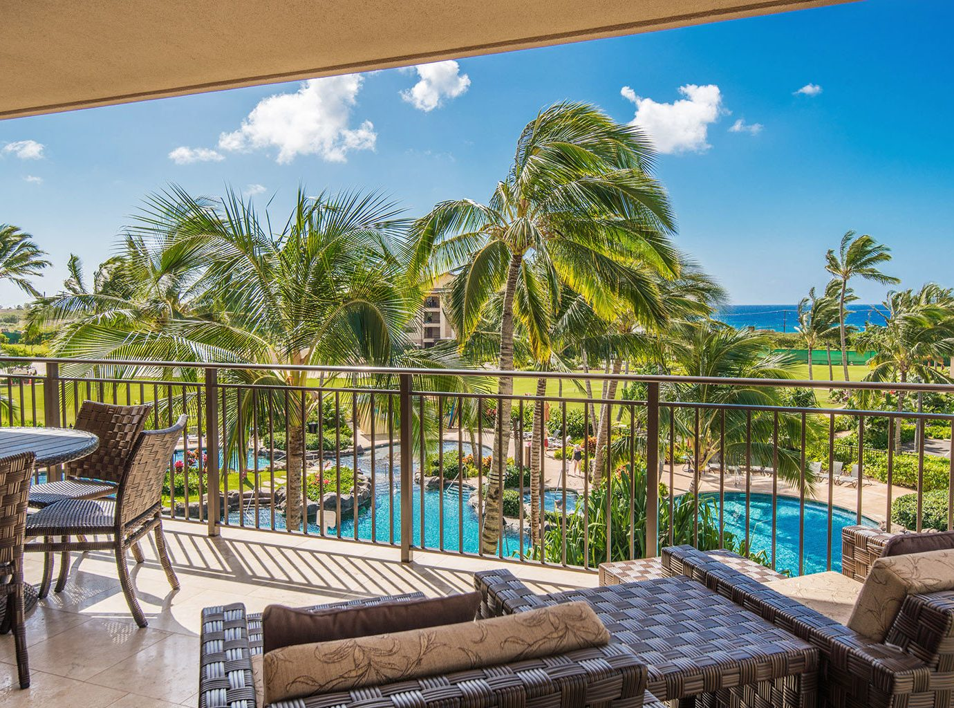 Buildings Hotels Living Lounge Pool Romance Scenic views tree sky outdoor property Resort leisure building caribbean vacation estate real estate arecales swimming pool Villa Beach condominium eco hotel area hacienda furniture