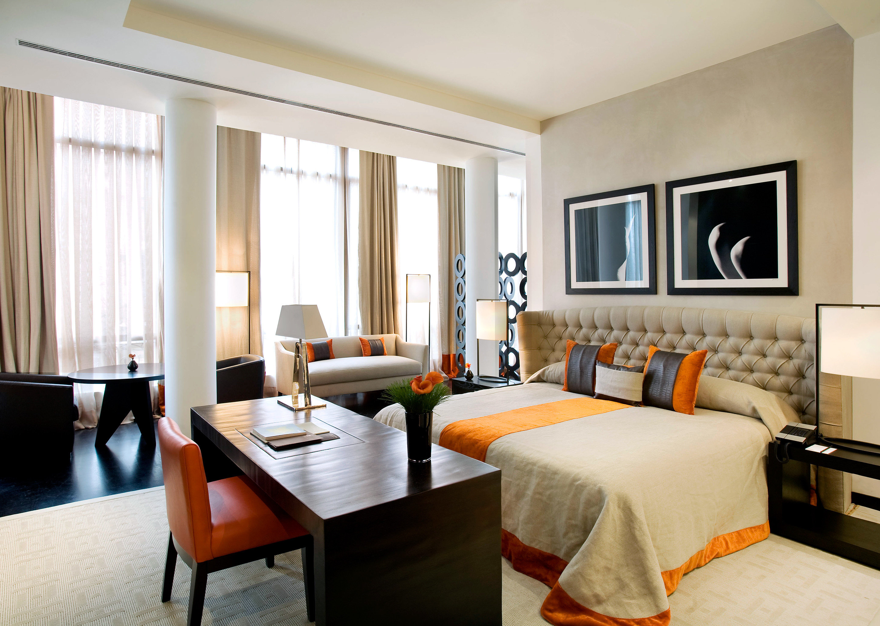Bedroom Boutique Hotels Budget City Modern Suite Indoor Wall Floor Room Window Sofa Ceiling