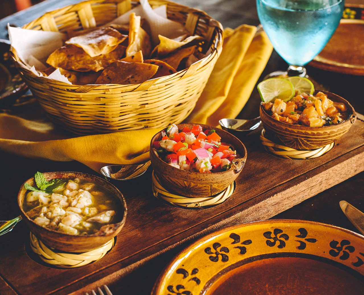 Cultural culture Dining Eat food Food + Drink mexican traditional Travel Tips table plate indoor meal dish breakfast dinner sense dessert baking Drink several