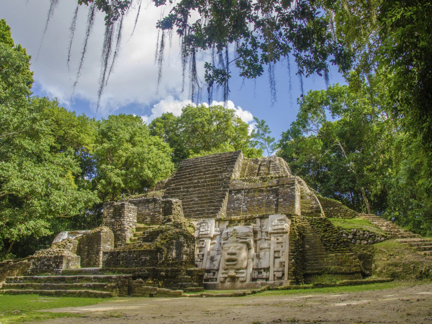 Beach Trip Ideas tree grass outdoor archaeological site Ruins building rural area estate maya civilization Village place of worship plant surrounded stone