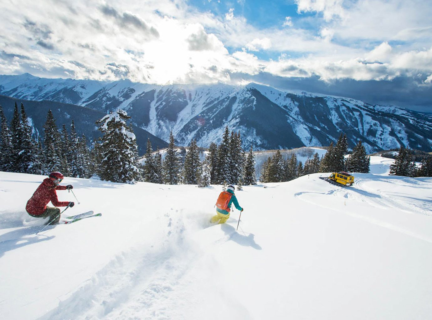 Celebs Hotels Trip Ideas snow sky outdoor mountain skiing Nature ice piste slope weather Winter geological phenomenon telemark skiing Ski covered winter sport ski equipment snowmobile season mountain range footwear alpine skiing sports ski slope people ski mountaineering vehicle ski touring sports equipment Resort downhill nordic skiing snowboarding