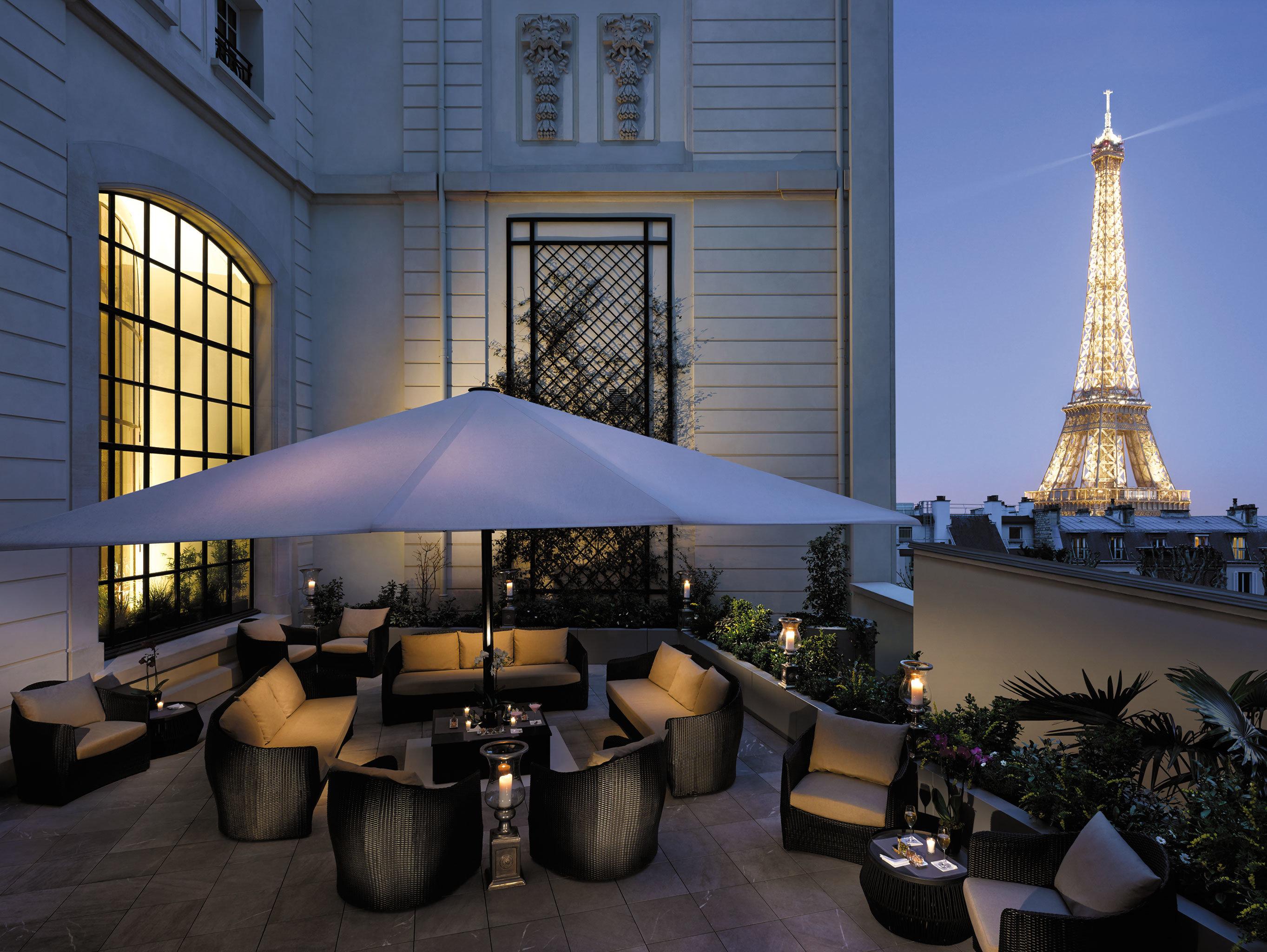 Elegant Exterior Hotels Lounge Luxury Nightlife Patio Romance Scenic views building window room lighting estate interior design furniture decorated