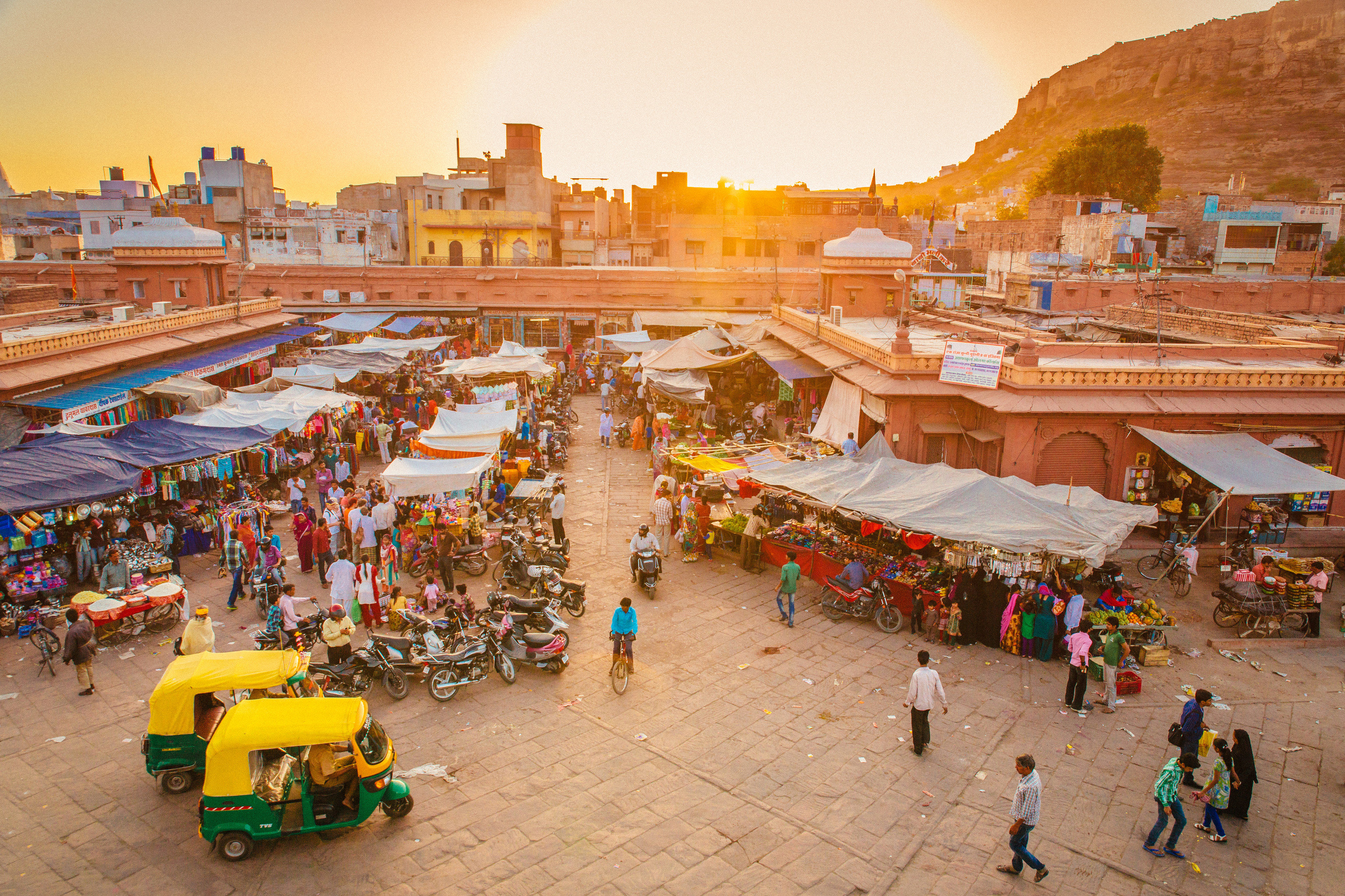 India Jaipur Jodhpur Trip Ideas sky ground toy outdoor City tourism marketplace people group recreation fair leisure sand market several