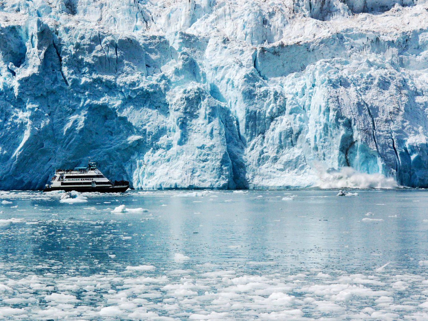 Trip Ideas water outdoor Nature ice geographical feature landform arctic iceberg glacier mountain arctic ocean Ocean glacial landform polar ice cap ice cap Sea sea ice fjord wind wave