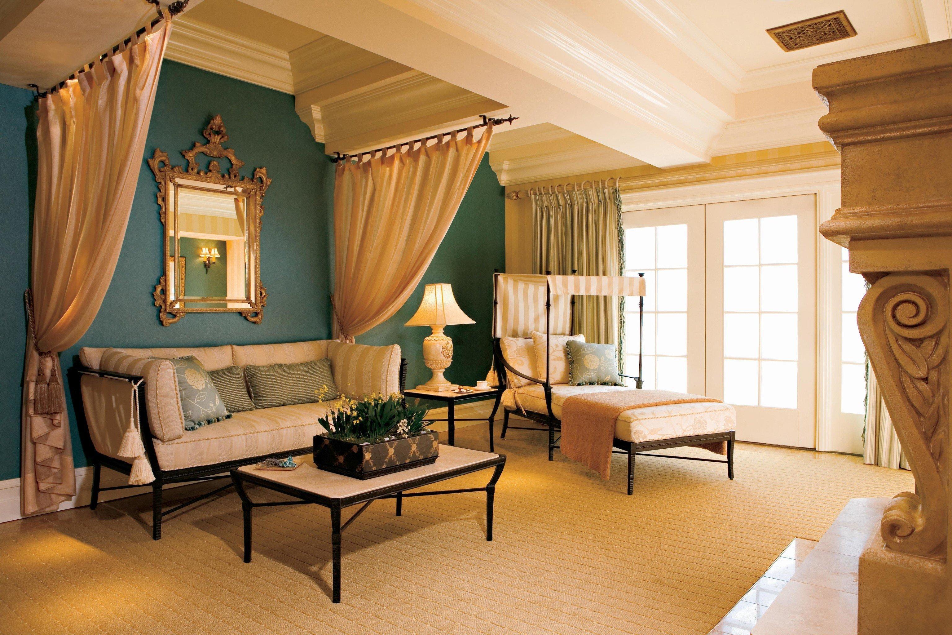 Hotels indoor floor room property Living living room estate Suite home interior design curtain dining room real estate cottage Villa Design furniture Bedroom decorated
