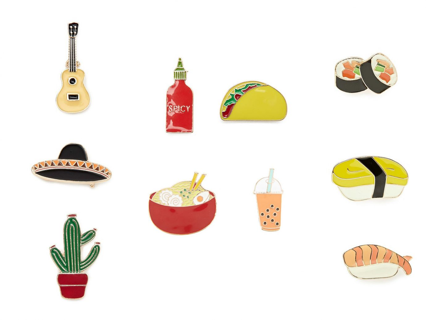 Style + Design product dish sushi food hand illustration