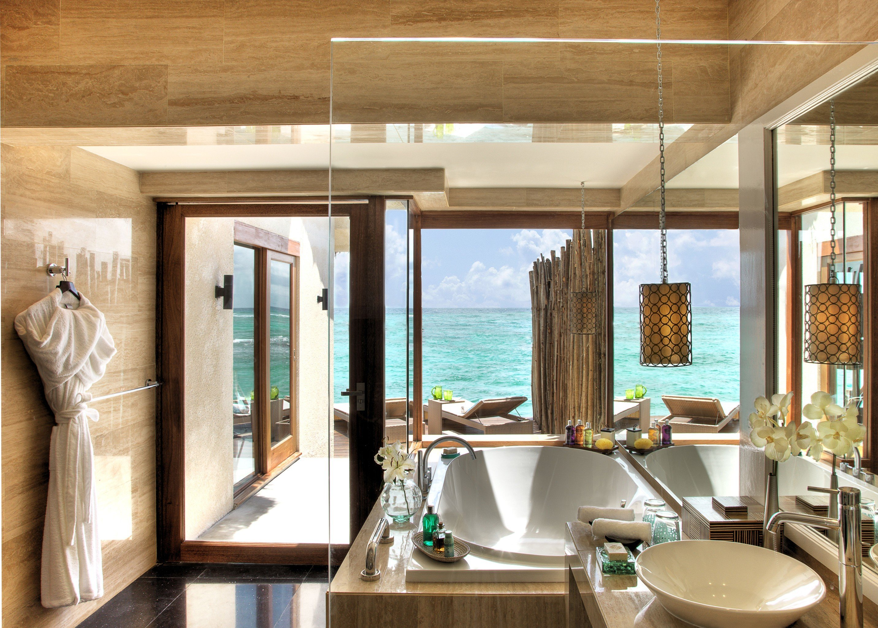 World's Best Hotel Bathrooms on small bathroom pool, toilet pool, indoor outdoor shower,