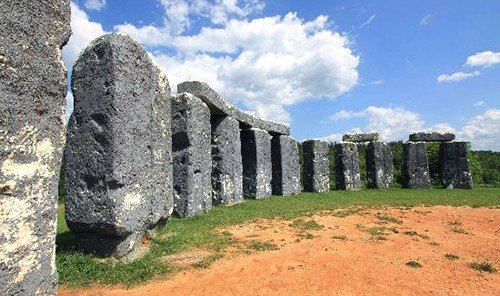 Offbeat building outdoor rock sky grass ground Ruins historic site archaeological site megalith rocky ancient history dirt monolith unesco world heritage site monastery arch stone