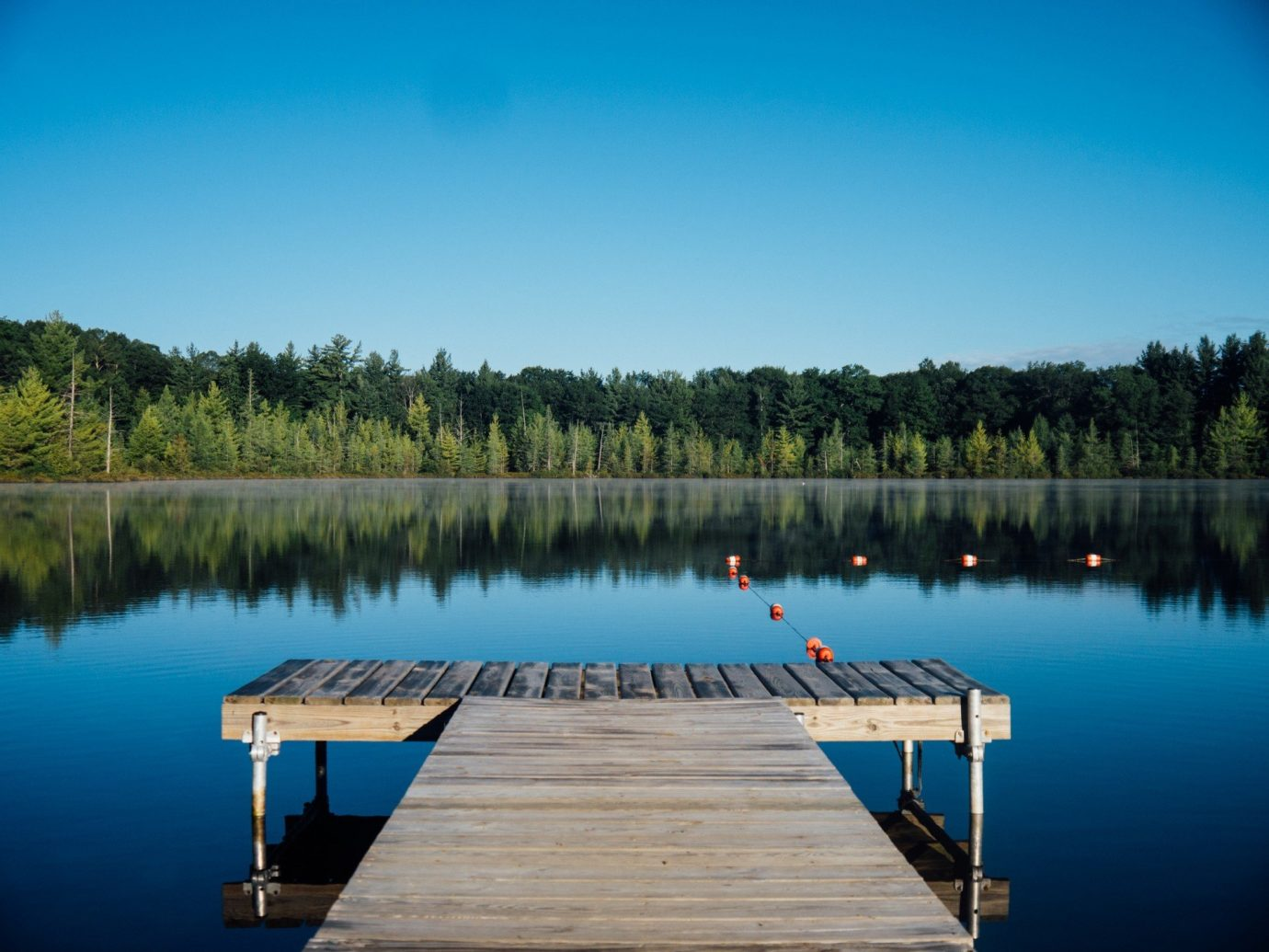 calm dock fresh Greenery isolation Lake Nature Outdoors reflection remote Scenic views serene trees Trip Ideas water tree outdoor sky body of water swimming pool reservoir dusk Sea wood surrounded day