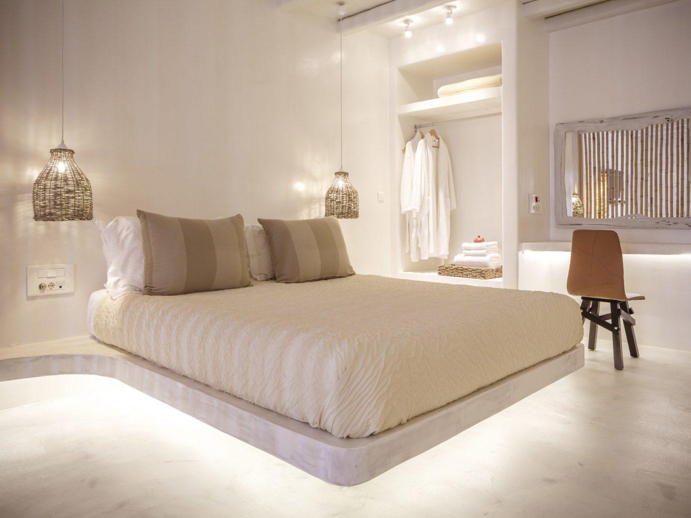 Hotels indoor wall bed floor room property Bedroom hotel furniture interior design bed frame Suite estate living room Design real estate apartment decorated