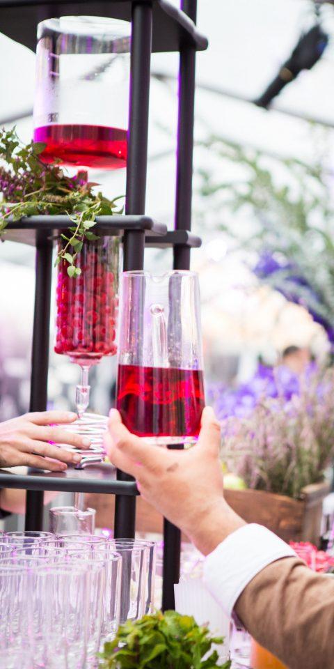 Food + Drink person floristry flower arranging flower meal ceremony wedding spring floral design sense brunch