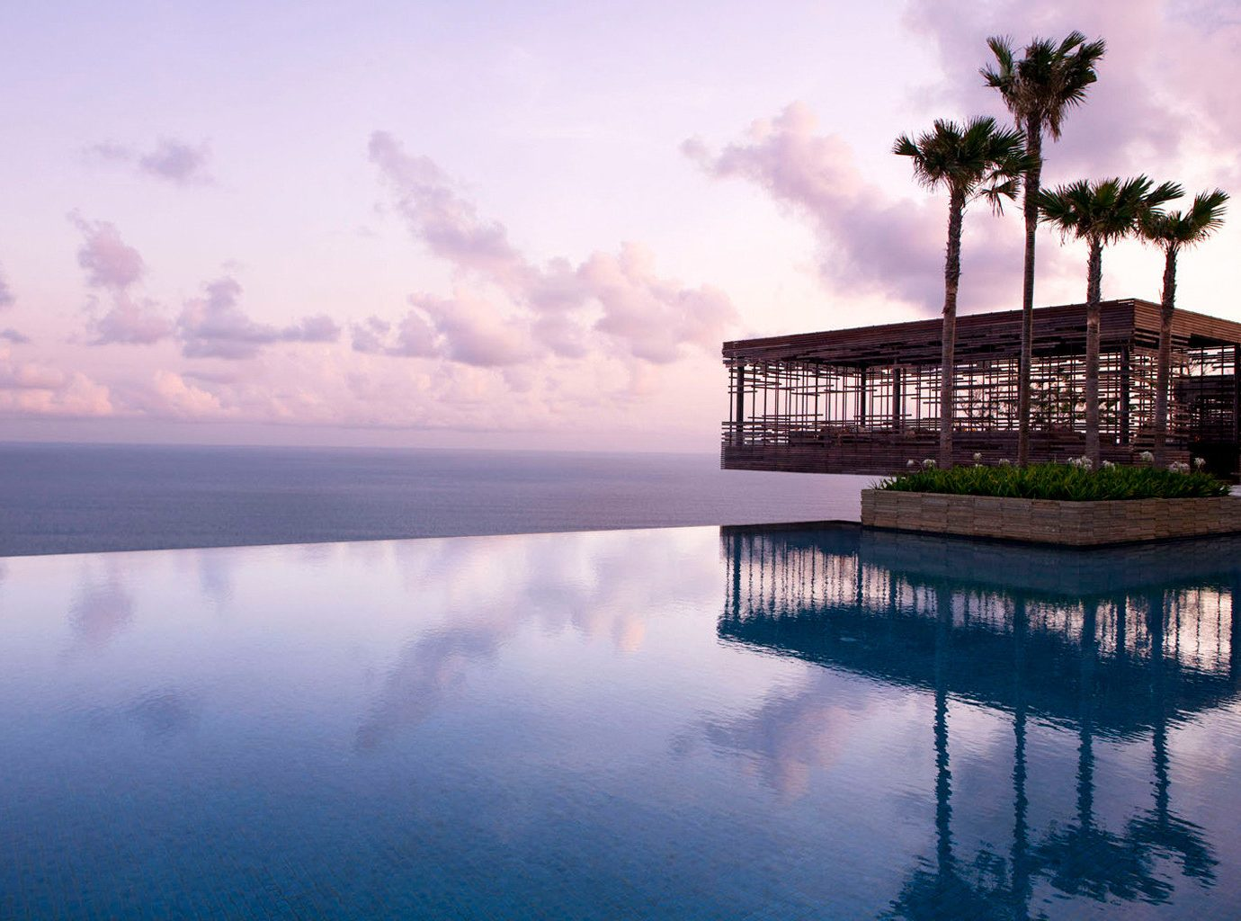 Infinity Pool At The Alila Villas Uluwatu In Bali