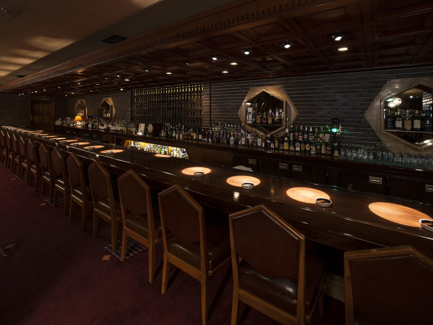 Hotels Japan Tokyo indoor floor ceiling auditorium stage function hall Bar restaurant
