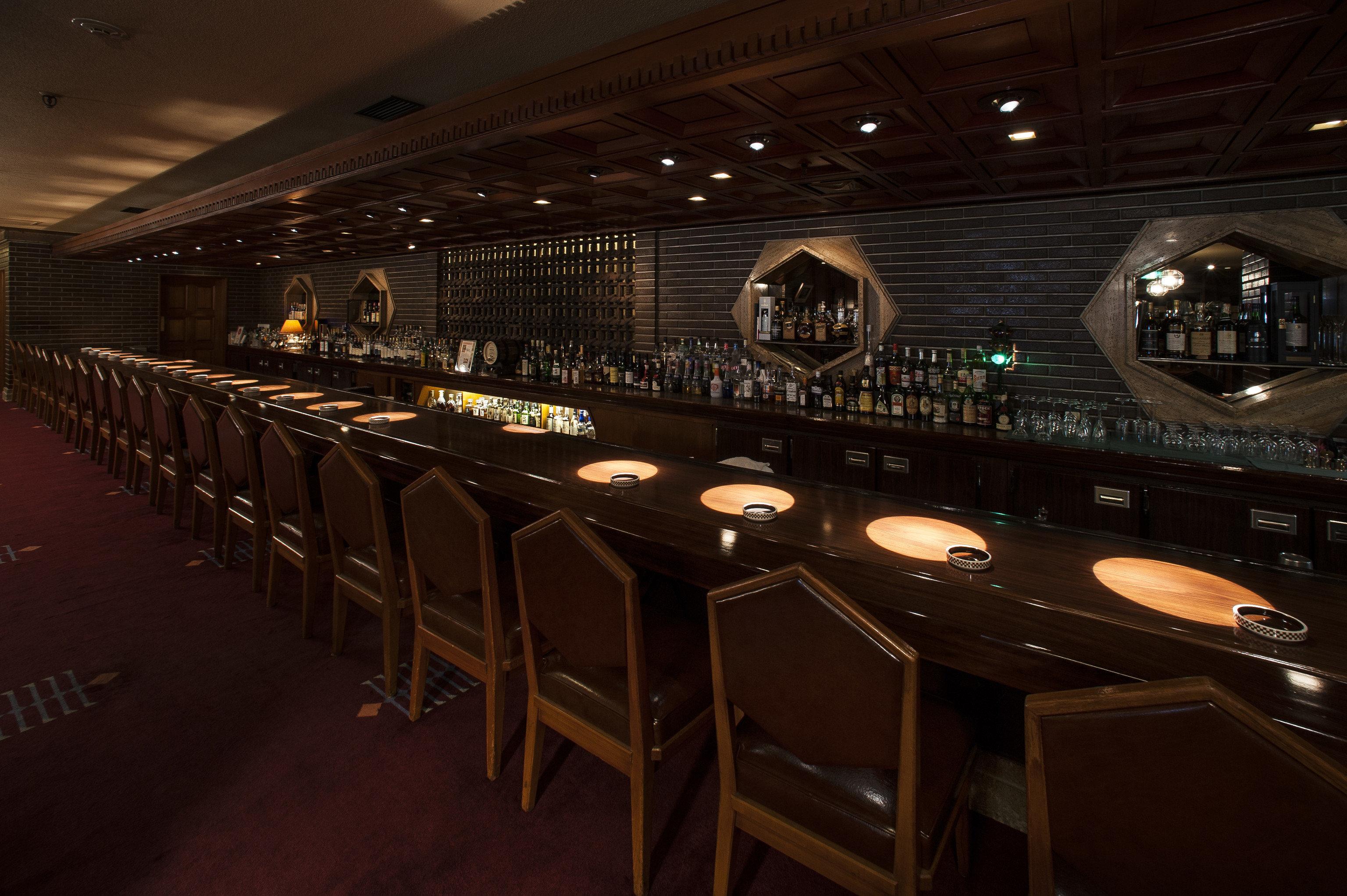 Hotels Japan Tokyo indoor floor ceiling auditorium stage function hall Bar restaurant