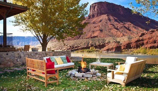 Outdoors + Adventure Trip Ideas outdoor grass tree property home mountain park landscape backyard real estate outdoor structure estate Patio yard outdoor furniture leisure landscaping cottage house