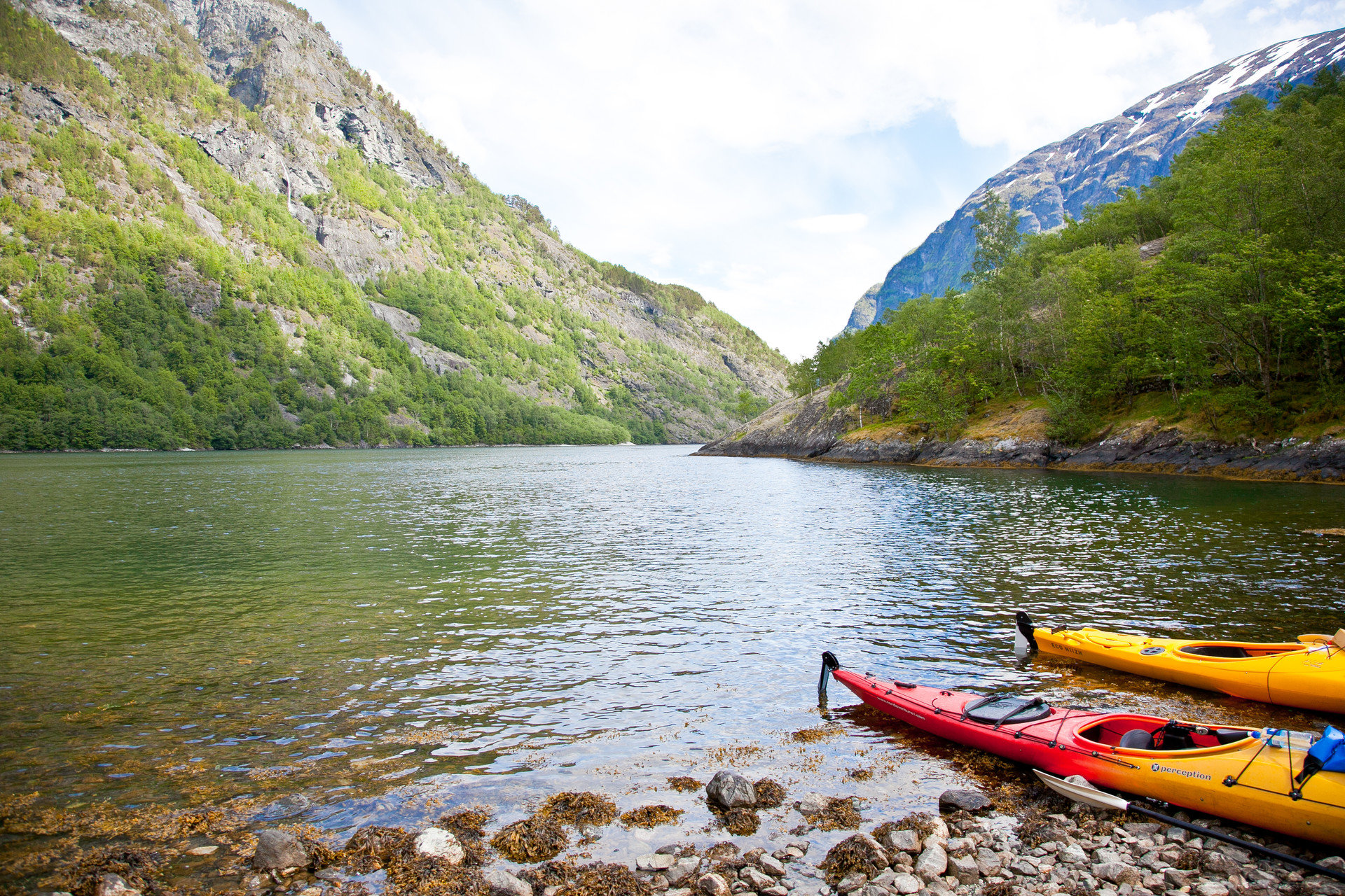canoeing kayaking Lake Mountains Nature Outdoor Activities Outdoors Scenic views Trip Ideas view viewpoint outdoor water mountain Boat vehicle boating River watercraft transport loch fjord canoe kayak sports equipment