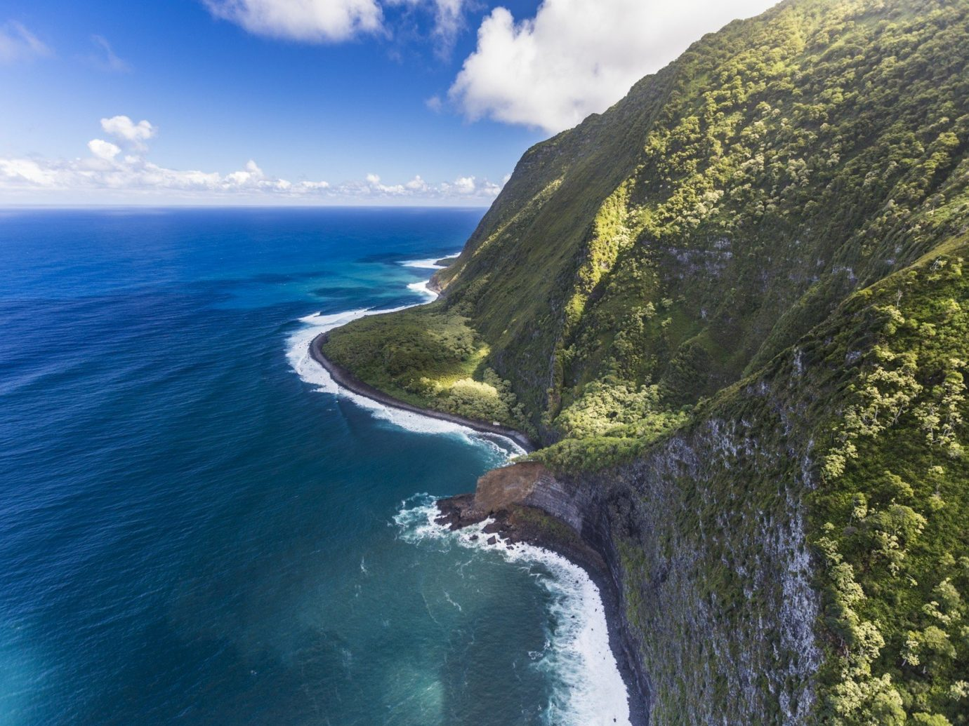 Offbeat outdoor water sky Nature Coast cliff landform geographical feature mountain Sea body of water Ocean terrain fjord cape extreme sport bay wave islet