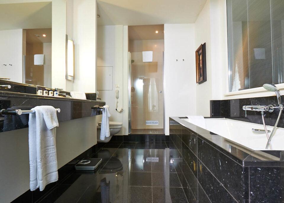 Bathroom of Dukes' Palace in Bruges Belgium