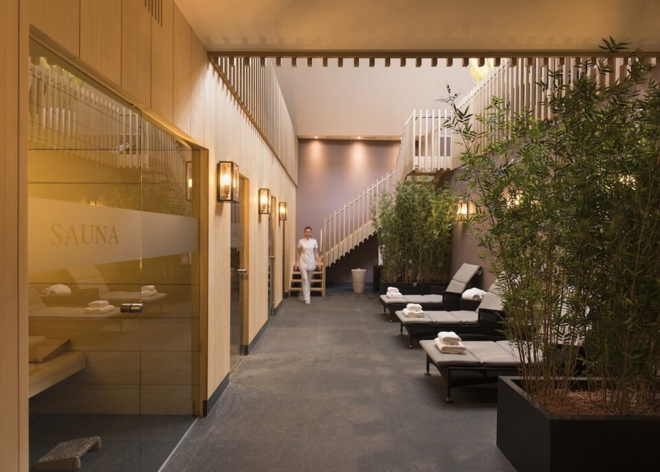 Spa at Dukes' Palace in Bruges Belgium