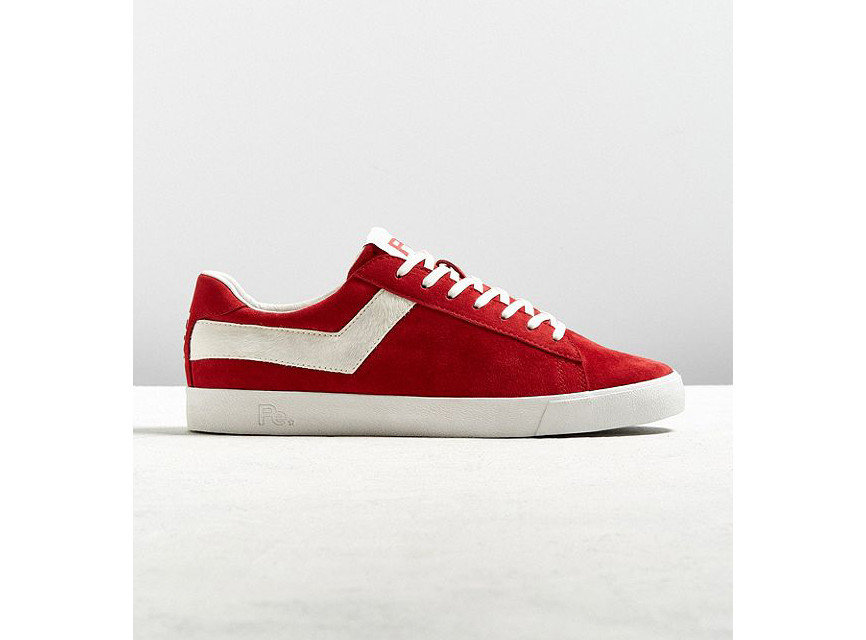 Gift Guides Travel Shop footwear red white shoe sneakers maroon sportswear skate shoe product design walking shoe brand carmine suede athletic shoe product