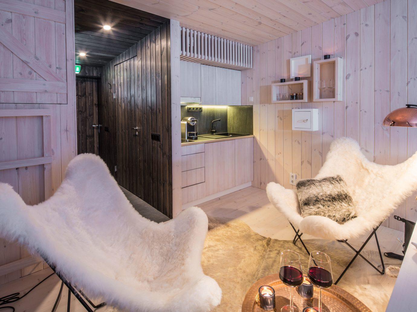 Finland Trip Ideas indoor room interior design home ceiling furniture floor flooring interior designer loft Bedroom house