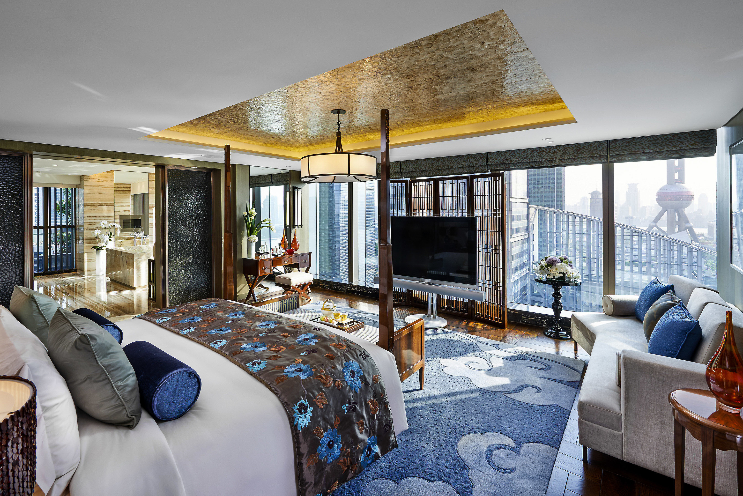 Boutique Hotels Luxury Travel indoor room sofa Living window ceiling floor furniture living room interior design real estate home decorated estate house Suite penthouse apartment area Bedroom