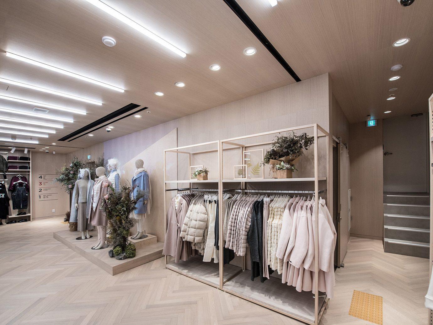 Seoul Style + Design Travel Shop indoor floor ceiling Boutique retail interior design flooring counter furniture several